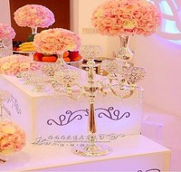 Free Shipping 76cm(H) wedding table centerpiece crystal table chandelier wedding candelabra 10pcs/lot