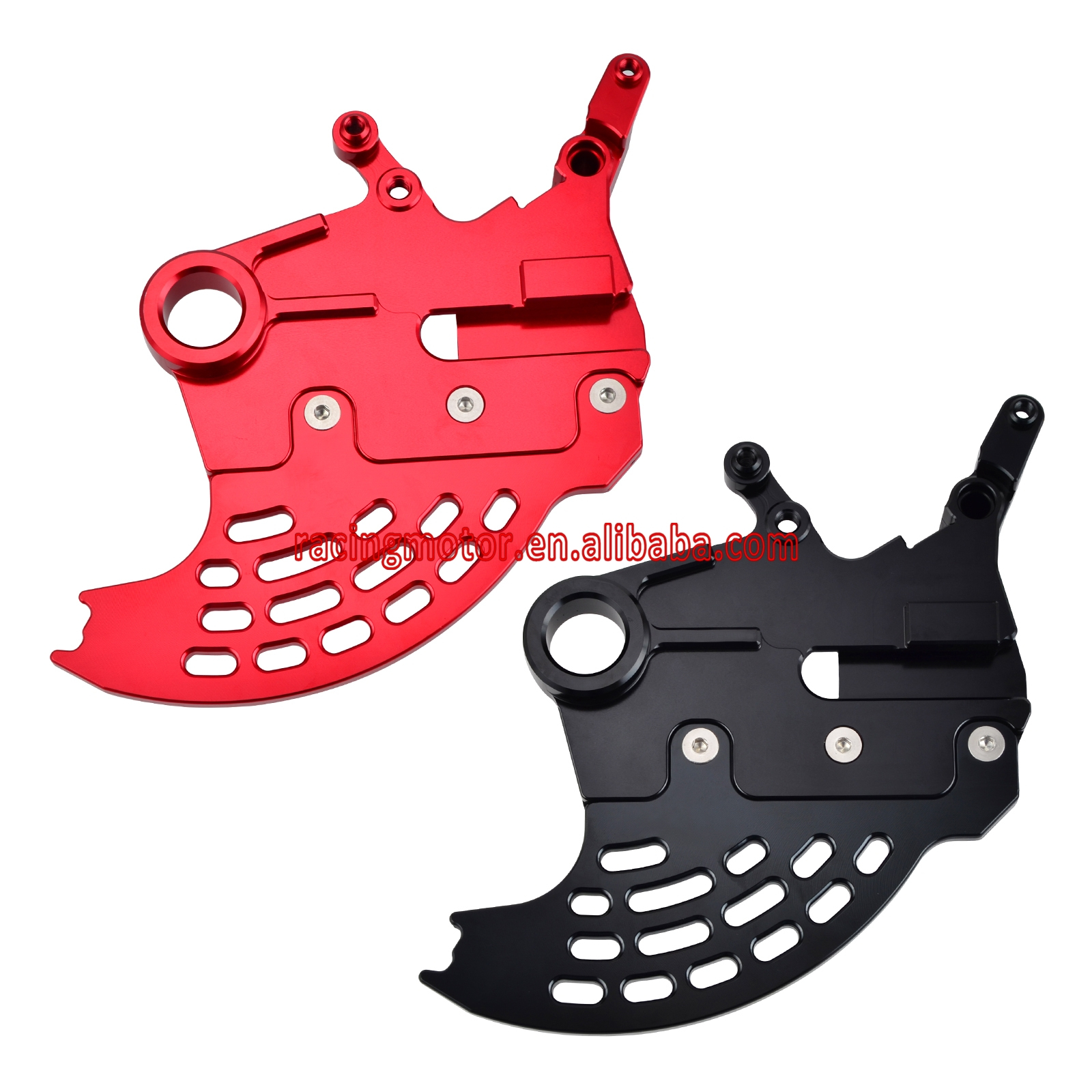 CNC Rear Brake Rotor Disc Guard Protector Cover for Honda CR125 CR250 CR 125 250 2002-2007 CRF250R 2004-2017 CRF250X 2004-2018 270mm front brake disc rotor for cr 125 250 500 crf 250r 250x 450x 450r 230f motocross supermoto enduro dirt bike off road