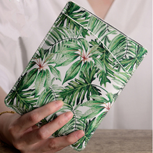 Greenery Style PU Leather 6  Tablet Pouch Sleeve Bag for Kindle Paperwhite 1/2/3 Case Ebook Cover for Kindle 8 / Voyage Capa for kindle paperwhite 1 2 3 case slim marble grain pu leather 6 inch tablet pouch sleeve bag cover for kindle 7 gen 8 gen voyage