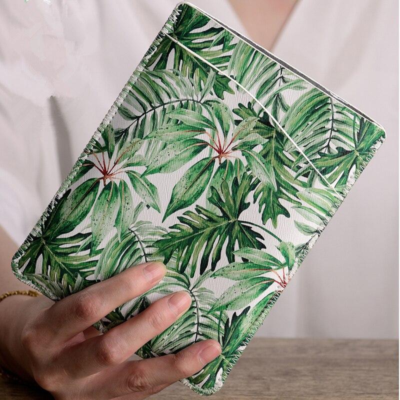 """Style de verdure PU cuir 6 """"tablette pochette sac pour Kindle Paperwhite 1/2/3 étui Ebook couverture pour Kindle 8/Voyage Capa"""