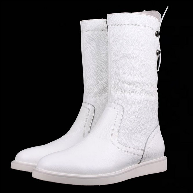 Popular Mens White Leather Boots-Buy Cheap Mens White Leather ...