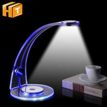 купить Creative Acrylic LED Desk Lamp Touch Switch Dimmable Reading Light a nice gift Table Lamp. по цене 2771.18 рублей