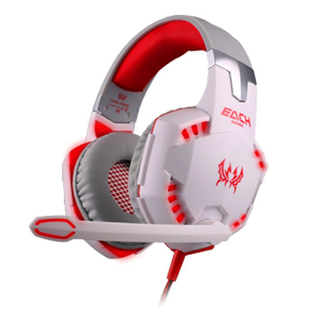 PC Gamer Stereo Hifi Gaming Headphones With Microphone 1
