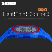 SKMEI Men Women LED Digital Wristwatches Relogio Masculino Feminino Waterproof Sport ultra thin Fashion Simple Dial Mens Watches