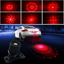 Car Anti-collision Laser Fog Light Auto Parking Stop Braking Signal Indicators Motorcycle LED Warning Light Decorative lights