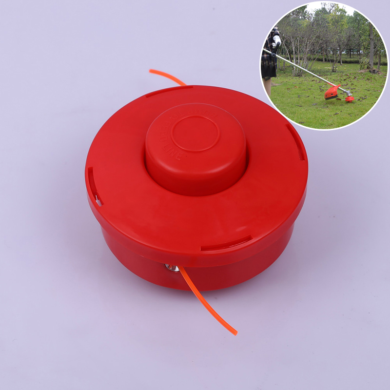 Universal Nylone Line Bump Cutting Head Fits Brush Cutters Strimmers Replacement Feed Grass Trimmer