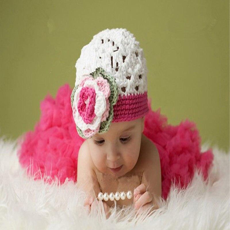 2d1d9a907a8 Νεογέννητο καπέλο βαμβακιού μωρών Κορίτσια ροζ & κόκκινα Beanies ...