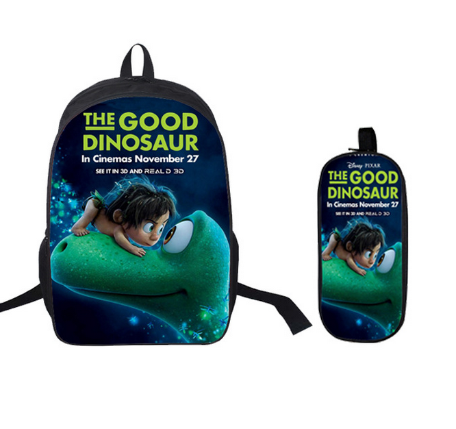 16 Inch Kids Backpack The Good Dinosaur School Bags Satchel 3D Cartoon  Orthopedic Children School Bags For Boys Mochila Gift-in School Bags from  Luggage ... 7993e7c566