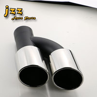 Dual Car Tail Pipe Exhaust Silencer Stainless Steel Muffler Muffler Exhaust For Audi A4 B8