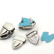 Wholesale Silver Tone Purse Snap Clasps,Closure Purse Handbag Box Lock 4.1x3cm,100Sets