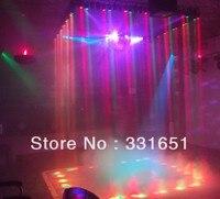 8 stücke/Karton RGBW Quad LED Pin Spot-Licht Zoom DMX 6 Kanäle