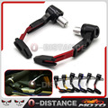 CNC Motorbike Handgrip Guard Motorcycle Proguard System Brake Clutch Levers Protect Guard For HONDA MV AGUSTA  Red