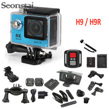 30M Underwater Action Camera Deportiva H9 / H9R Remote Ultra HD 4K WiFi 1080P 60fps 2.0 LCD 170D Pro Sport Waterproof Go Cameras