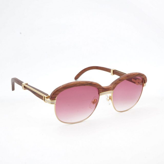 Wooden Sunglasses  Retro Shades Eyewear 4