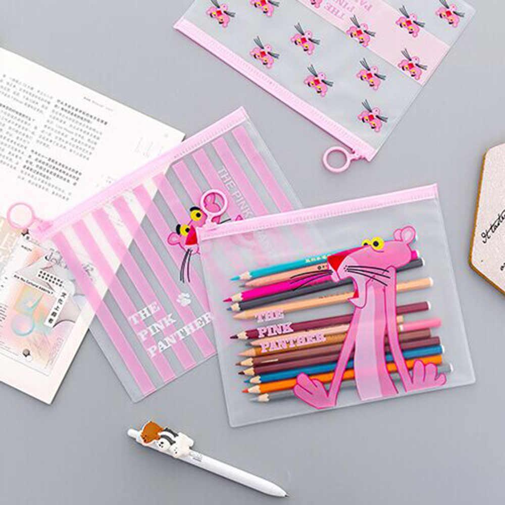 1pcs חמוד Unicorn קלמר PVC מסמך תיק תיק קלמר מכתבים מחזיק ארגונית ציוד לבית ספר Dropshipping