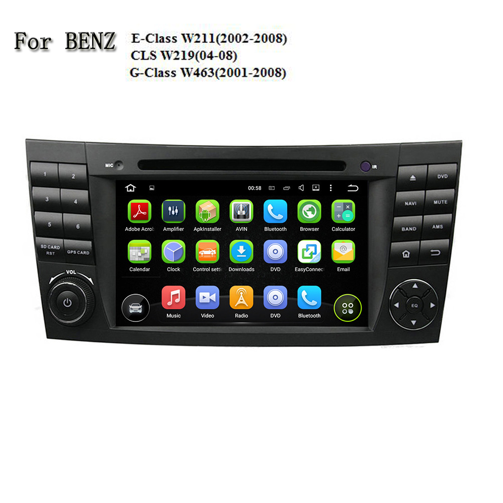 2 DIN GPS навигации Сенсорный экран MP3 Bluetooth Android 5.1 dvd мультимедиа видео плее ...