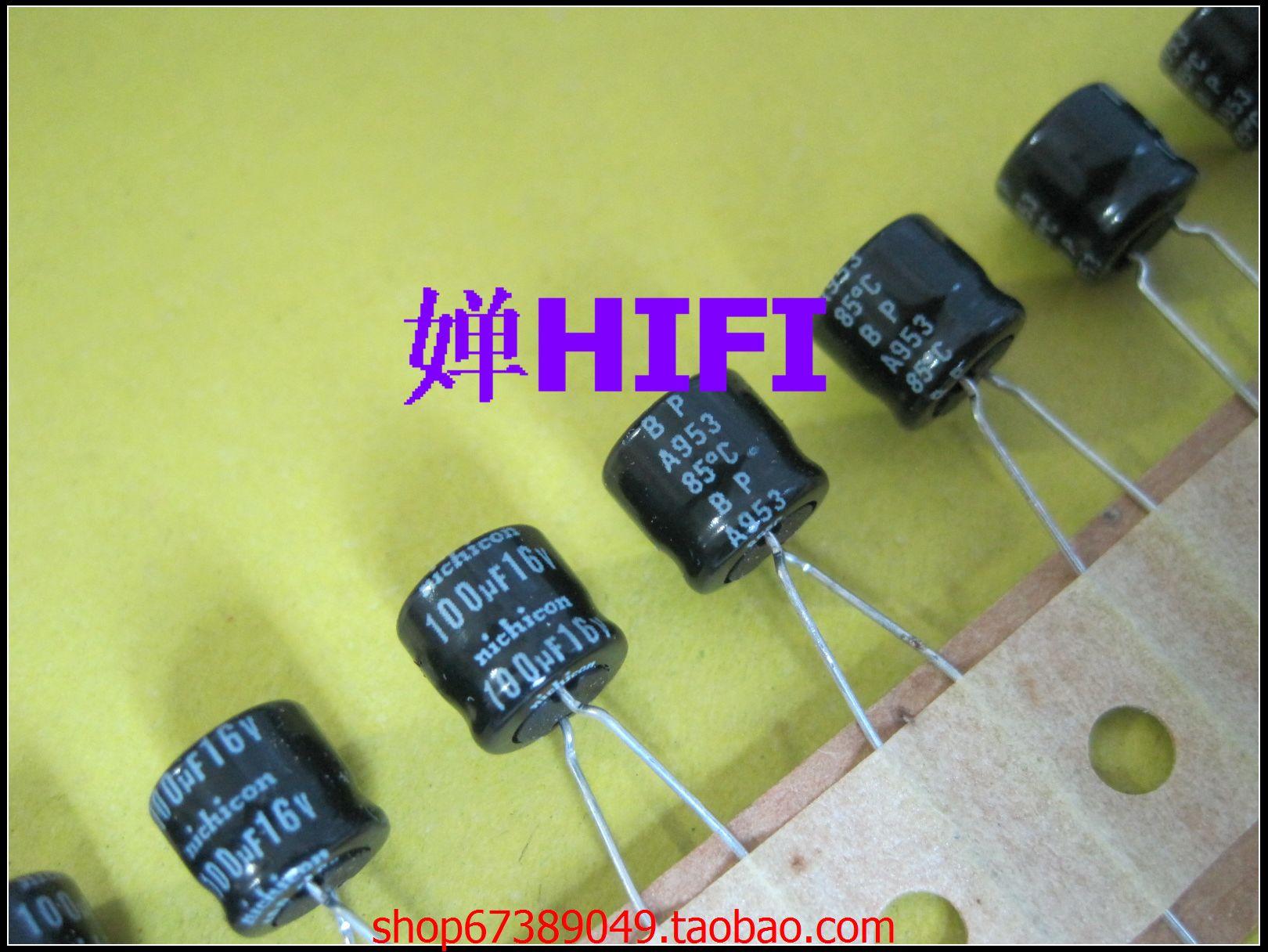 Sale Np-bp 50pcs Nichicon Japonês Original Capacitor Eletrolítico 16v100uf 8×7 Frete Grátis 2020 Hot 20pcs –