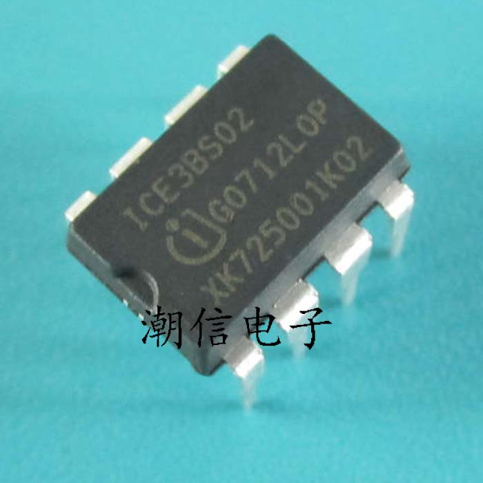 Active Components 10pcs/lot Ice3bs02 Dip-8 Switching Power Supply Current Control Pulse Width Modulator