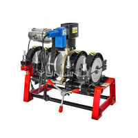 63-160/200PE Pipe Hot Melt Welding Machine Butt Welding Machine 220V3100W Manual Hot Melter Pipe Welding Machine
