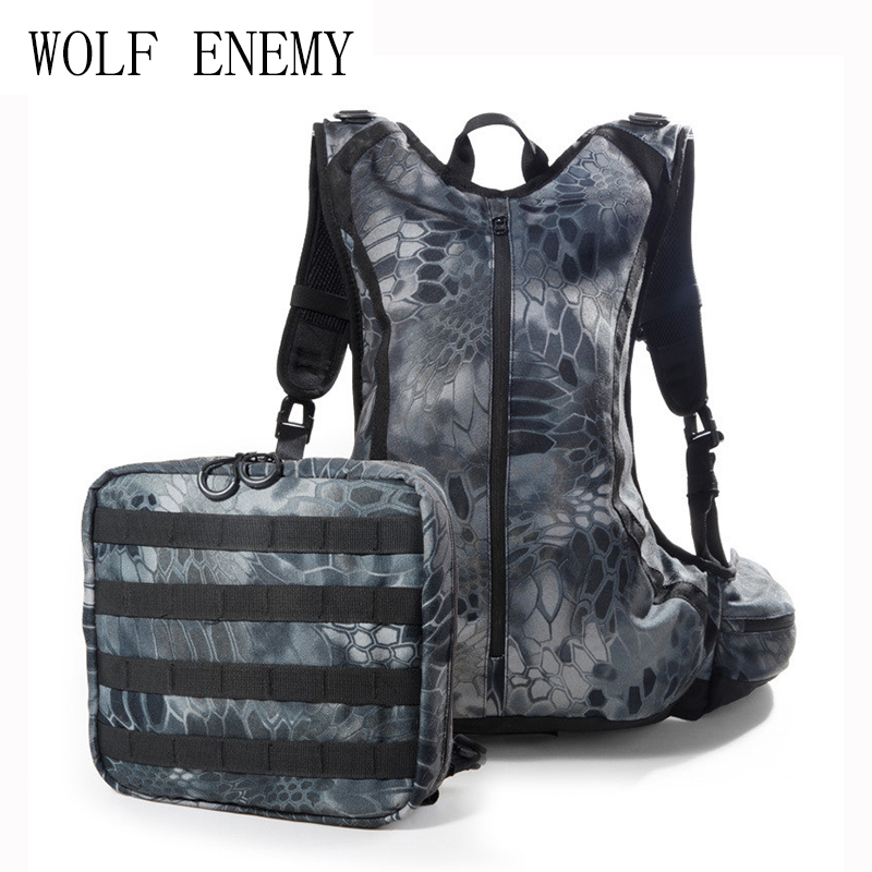 20L Tactical Outdoor Hunting Backpack Sports Camouflage Backpack Waterproof Durable Breathable fire maple sw28888 outdoor tactical motorcycling wild game abs helmet khaki