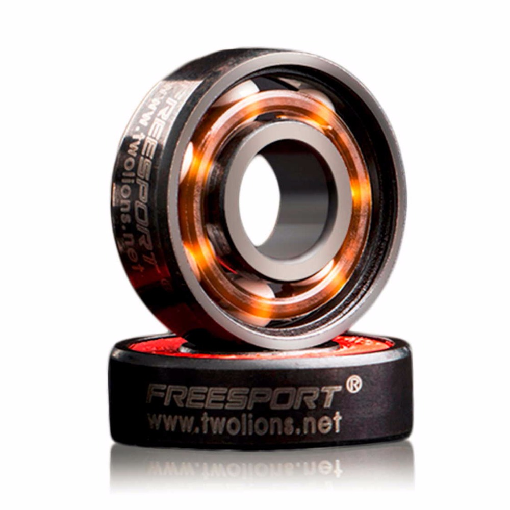 Image 3 - FreeSport 608 Hybrid Ceramic Bearing ABEC 9 inline Skate Bearings FreeLine Skate Skateboard LongBoard HandSpinner Rodamientos-in Scooter Parts & Accessories from Sports & Entertainment