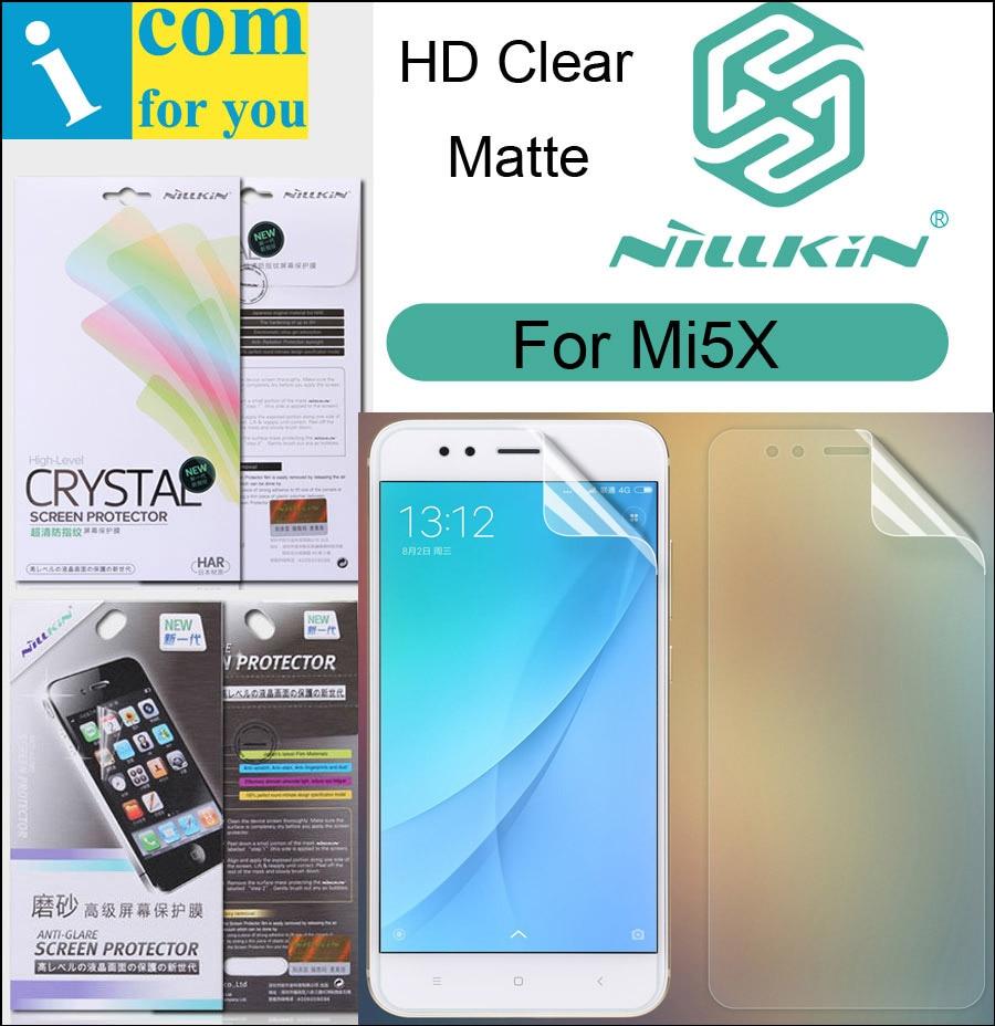 Nillkin Mat HD Écran Clair De Protection Film Pour Xiaomi Mi5X Mi 5X A1 Souple Transparent Cristal