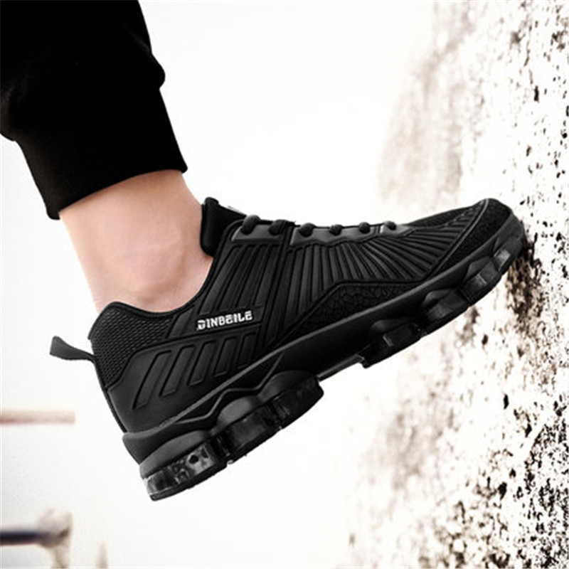 2018 new blade shoes men breathable wear warrior running shoes shock professional black sports shoes men free shipping
