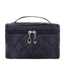 1b064929e Bolsas de cosméticos de viaje para mujer, bolsas de maquillaje para hombre  con cremallera de · 6 colores disponibles