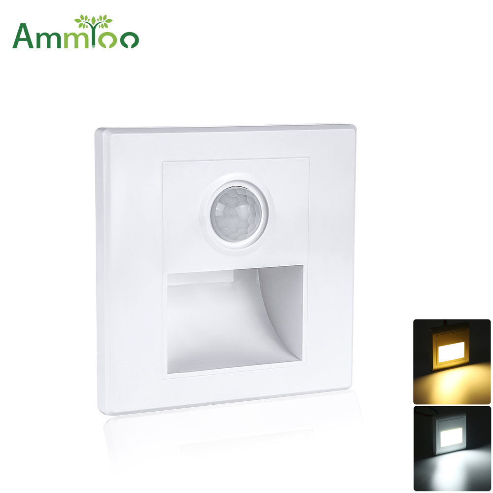 Impartial Pir Motion Sensor Under Cabinet Light Switch On/off Lampada Led Night Light Ac 100-265v Energy Saving Emergency Light For Home Invigorating Blood Circulation And Stopping Pains Under Cabinet Lights
