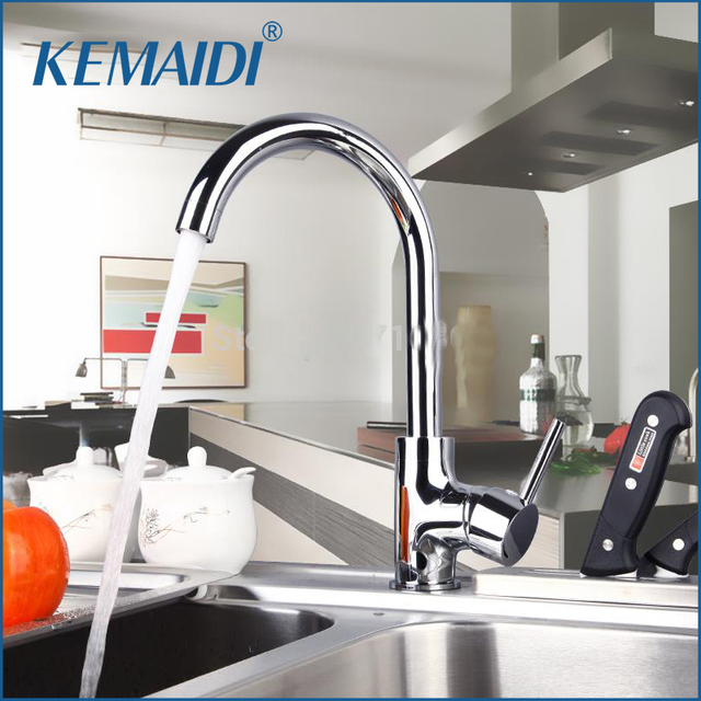 Delicieux KEMAIDI New Arrival Good Quality Kitchen Sink Faucet Swivel 360 Chrome  Kitchen Basin Faucets Mixer Tap