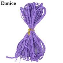 30 Zizi Box Braids Synthetic Thin Crochet Eunice Hair Colorful Braiding Extensions Black 613 Brown