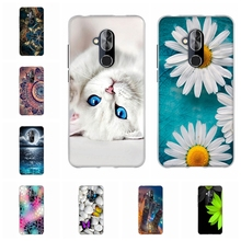 For Alcatel 7 Cover Ultra-thin Soft TPU Silicone 6062W 6763T L0925 Case Girl Patterned alcatel Coque Bag