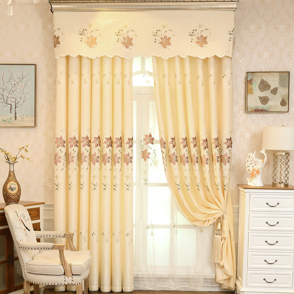 European Curtains for Living Dining Room Bedroom Thick ...