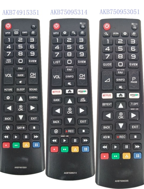 US $17 69 |New Original Remote Control AKB74915351 AKB75095305 AKB75095314  For LG LED LCD Smart TV Remote Controller -in Remote Controls from Consumer