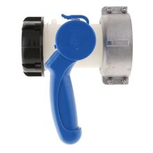 IBC шланг резервуар для воды Camlock адаптер шаровой клапан 75 мм до 55 мм резьба для 1000 литровых тонн бочек кислотостойкая к щелочи
