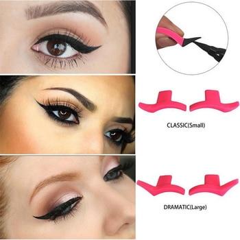 2PCS  Pink Color Beauty Makeup Eyeliner ...