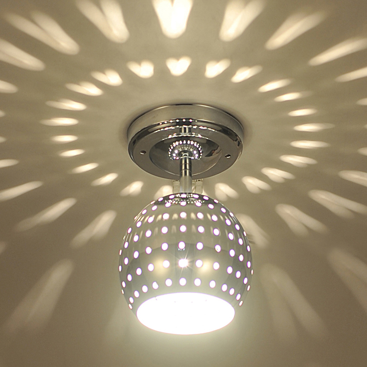 Modern Aluminum Hollow Out Honeycomb Ceiling Light Free Shipping Club Bar Living Room Lamp Balcony Porch Fixture