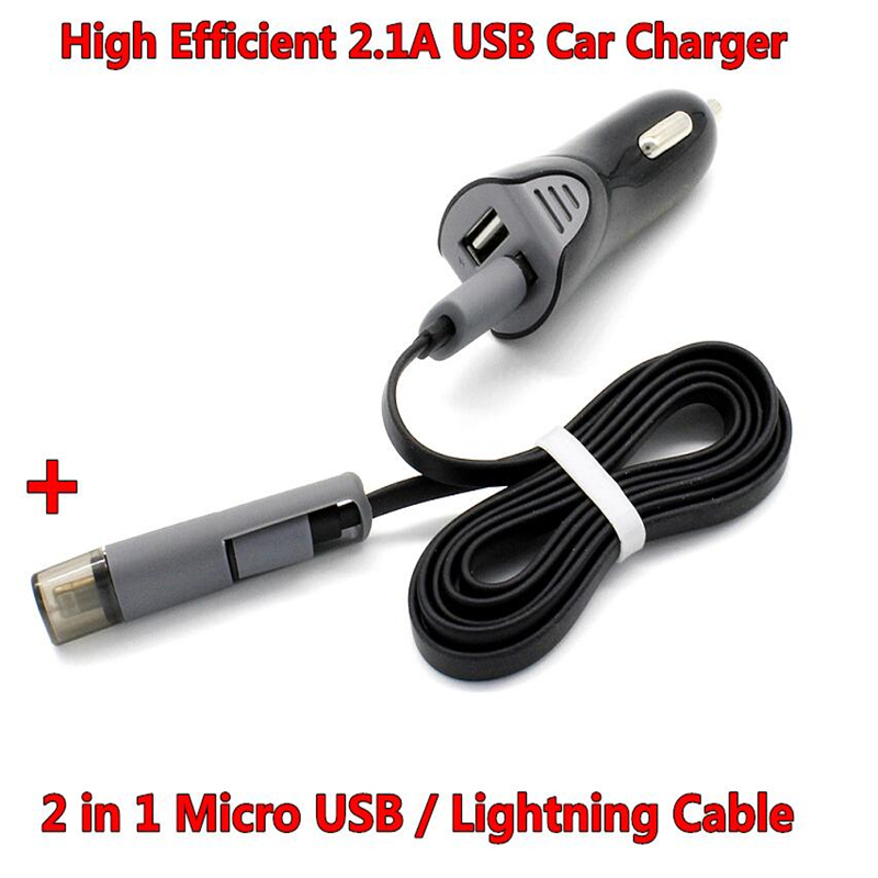 high efficiency 2 1a 2 port usb car charger led indicated. Black Bedroom Furniture Sets. Home Design Ideas