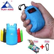 PLAYKING Легкий нейлоновый рюкзак, складной Водонепроницаемый рюкзак складной мешок Портативный Для мужчин Для женщин рюкзак для путешествий сумка-шоппер