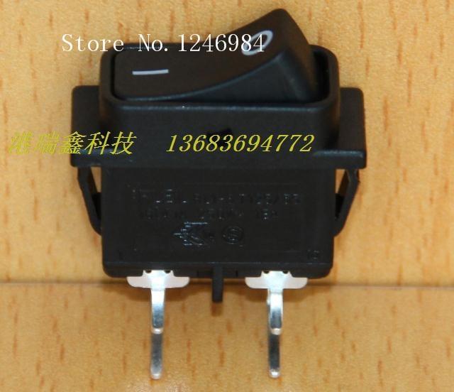 [SA] выключатель питания RLEIL клавишный переключатель с двумя изогнутыми ногами, длинные черные ножки, плоский кулисный переключатель RL1 8 50 шт./лот switch close switch bandswitch vlan   АлиЭкспресс