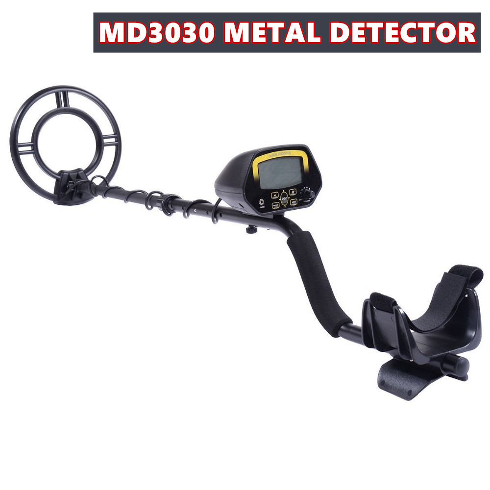 Pinpoint security detector 2018 New Arrived Underground Metal Detector MD3030 Gold digger Treasure Hunter