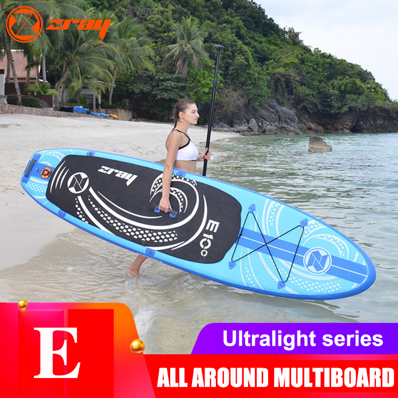Inflatable Surfboard Stand Up Paddle Portable Surfing Board Water Sport Sup Board + Pump Safety Rope Tools Kit image