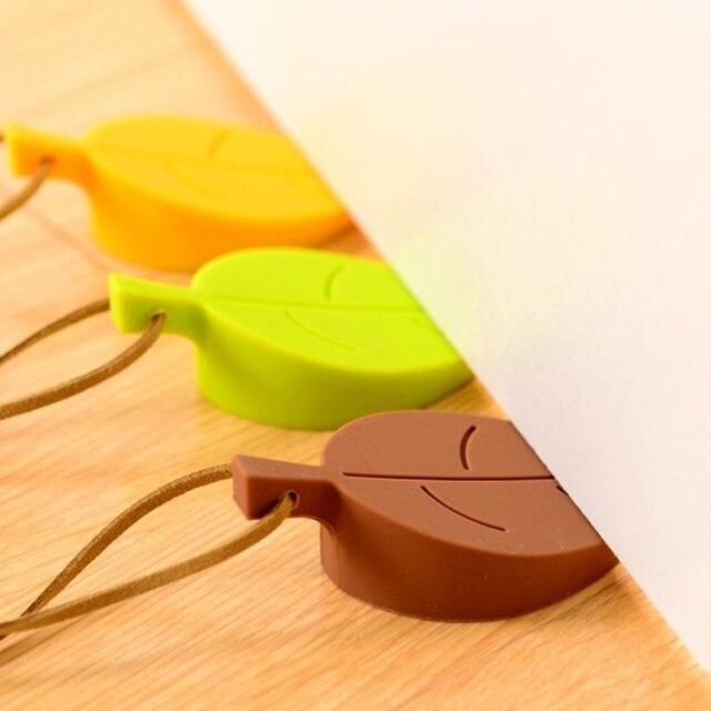 Silicone butoir de porte en caoutchouc mignon automne feuille Style décor à la maison doigt sécurité Protection cale enfant bébé coffre-fort portes 11.11