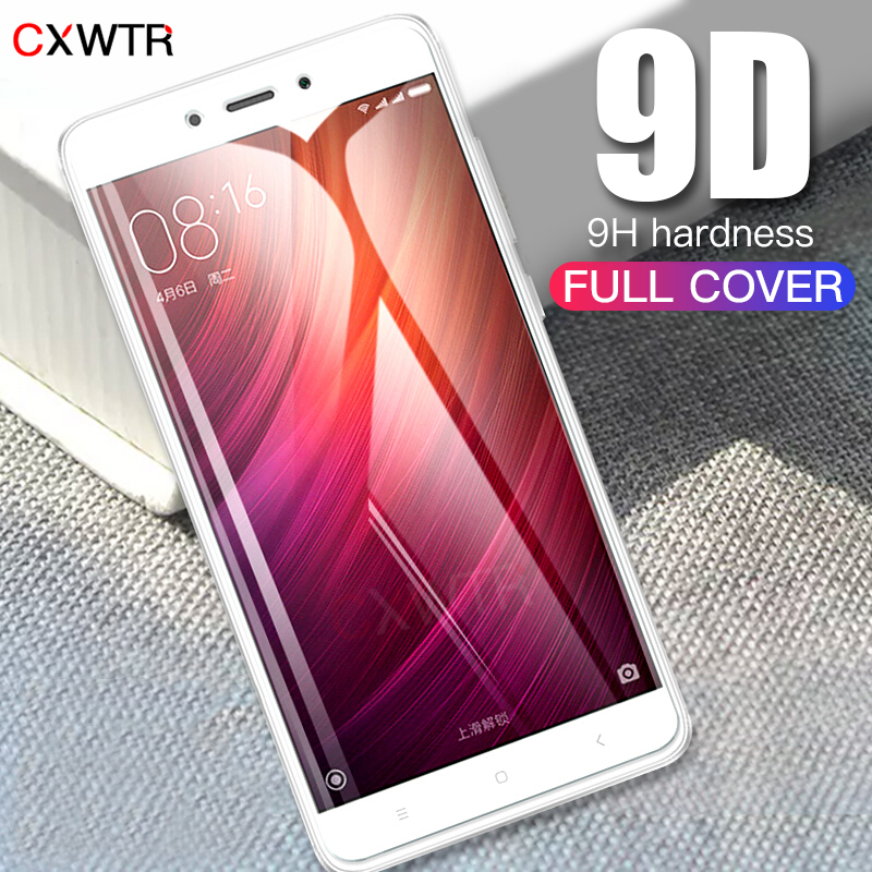 Tempered-Glass Screen-Protector-Film Note Redmi Full-Cover Xiaomi For Note-4/global-Version
