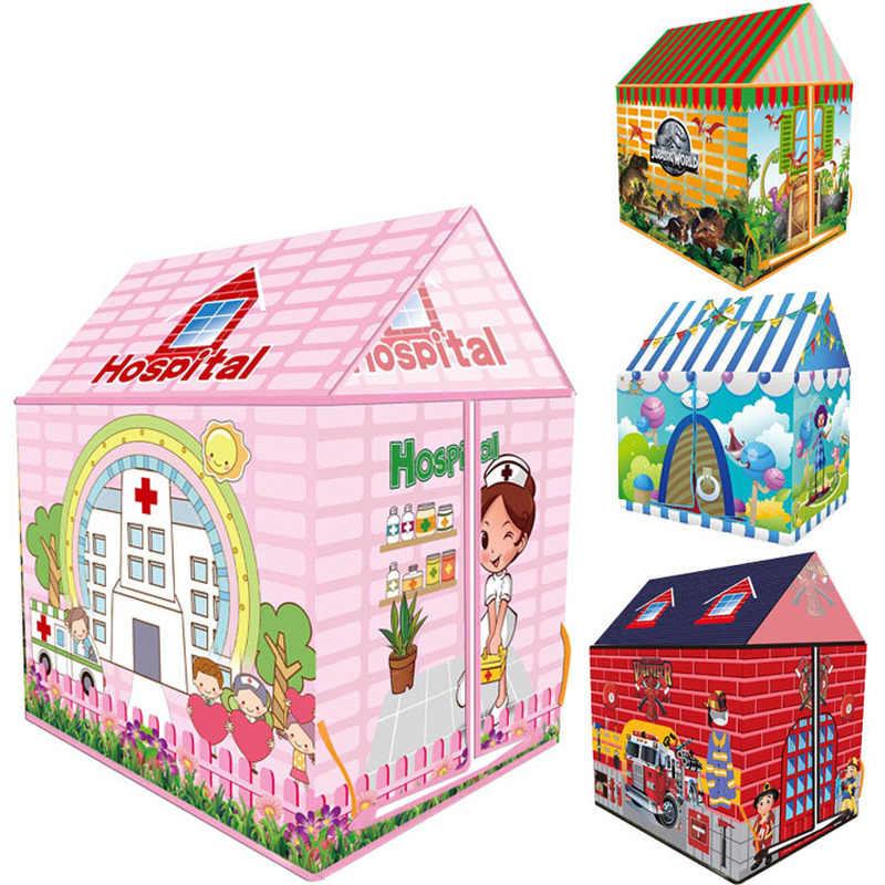Игровая палатка, детский игровой домик, игрушки для дома, детский тент, игрушки для девочек, дом принцессы для мальчиков, маленький тент, домашние детские подарки