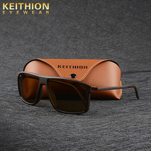KEITHION Fashion Polarized Square Sunglasses Men Driving Sun Glasses For Brand Design High Quality Mirror Eyewear Male Women