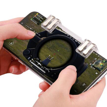 Mobile Phone Game Joysticks Gamepad For PUBG Trigger Fire Button Smartphone Shooting Game Aim Key L1R1 Shooter Controller