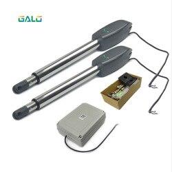 400kg urządzenie otwierające do bram skrzydłowych GALO kontroluje PKMC02 Heavy-Duty auto podwójny automatyczny otwieracz bramy do bramki samozamykające do 20 stóp