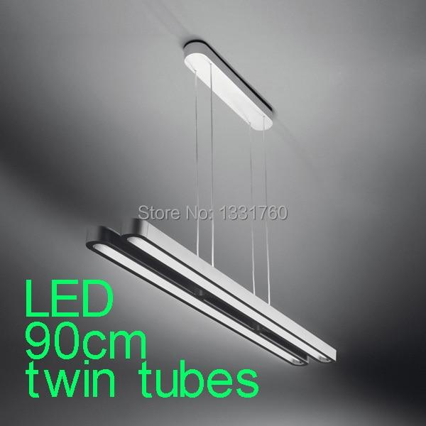 twin tubes LED 90cm LED pendant lights Modern Suspension lighting suspension pendant lamp sospensione twin tubes led 90cm led pendant lights modern suspension lighting suspension pendant lamp sospensione