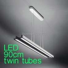 twin tubes LED 90cm LED pendant lights Modern Suspension lighting suspension pendant lamp sospensione